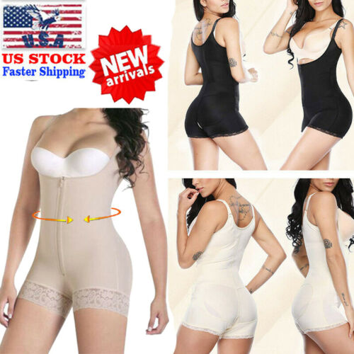 Fajas Colombianas Reductoras Full Body Firm Control Shaper Surgery Bodysuits US
