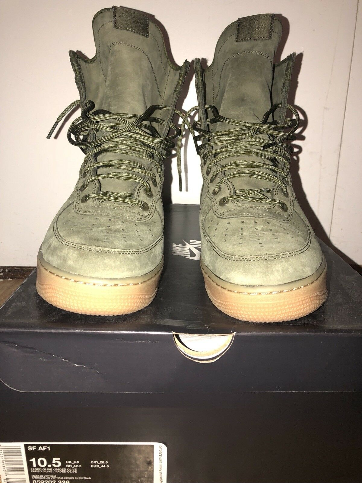 Air Force One AF1 Special Field Olive Green 10.5