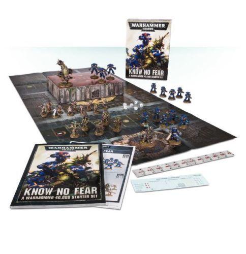 Saber sin miedo  un Warhammer 40k Starter Set GWS 40-03-60 Nuevo En Caja