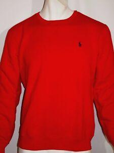 ce132be04753 Details about Polo Ralph Lauren men s size xl classic fleece crew sweatshirt  color red
