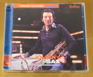 I-GRANDI-SUCCESSI-ORIGINALI-JOHNNY-SAX-2CD-OTTIMO-CD-AC-237