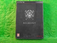 ps3 CASTLEVANIA Lords Of Shadow 2 Limited Special BELMONT Edition NEW & Sealed