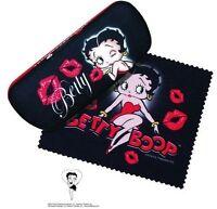 Betty Boop Eyeglass Case Kiss Design