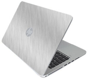 Details about BRUSHED ALUMINUM Vinyl Lid Skin Cover fits HP Elitebook 840  G3 Laptop