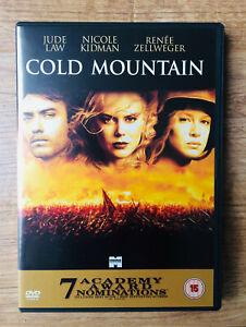 Cold Mountain 2003 Jude Law Nicole Kidman Region 2 Dvd 2 Disc Set Like New 5017188812580 Ebay