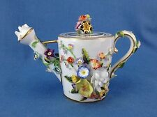 Bloor Derby Rose Water Sprinkler Miniature Watering Can Novelty Encrusted Flower