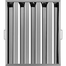 6 Pack 20 X 25 Hood Grease Exhaust Filter Baffle 430 Commercial 4 Slots