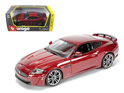 1/24 Bburago Jaguar Xkr-s Burgundy Diecast Model Car Dark Red 18-21063 Sale Price Diecast & Toy Vehicles