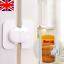 Refrigerator Fridge Freezer Door Lock Latch Catch for Toddler Child Safety #gq