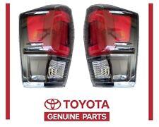 Genuine Toyota Tacoma 2017 TRD PRO Left & Right Rear Tail Lights OEM OE