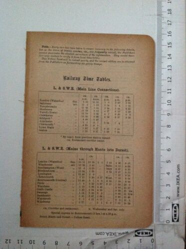 Railway, Bus, Smer Timetables, 1914 Antique Advert, Original