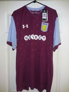 Under Armour Avfc Aston Villa Fc Mens Soccer Jersey 1296013 194 Medium Nwt 90 Ebay
