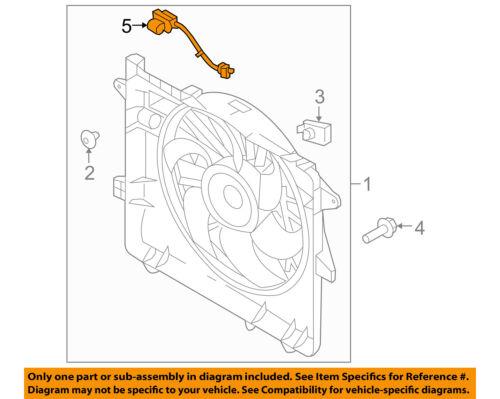 FORD OEM 05-10 Mustang 4.6L-V8 Engine Cooling Fan-Resistor 7R3Z8L603A