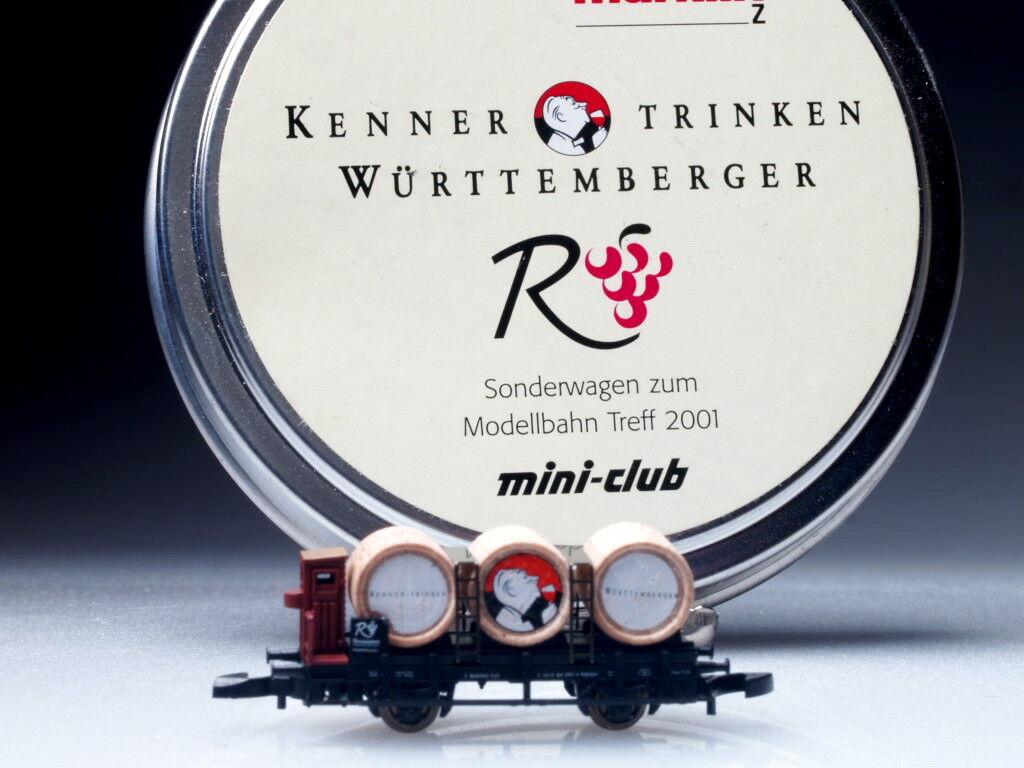 82174 Marklin Escala Z  wurttemberger Wein  coche 2001 SP. Ed.