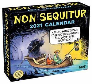 NON SEQUITUR - 2021 DAILY DESK CALENDAR - BRAND NEW ...