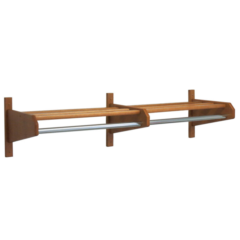 Wall Shelf With Bar 65.75 In. W X 15.5 In. D X 11.5 In. H 17 Lbs.