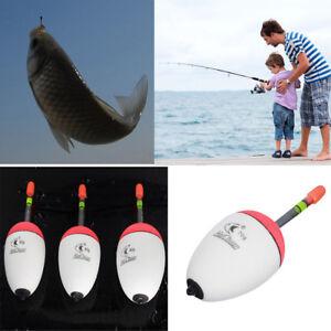 10Pcs 2g Fishing Floats Bobbers Paulownia Wood Durable Fishing Tackle Tools