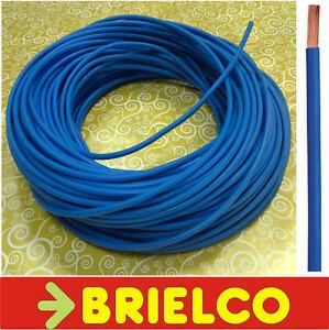 Cable Electrico Flexible Unipolar 1x1mm2 Ext2.55mm Energia Azul 100m Bd10050/100 Activation De La Circulation Sanguine Et Renforcement Des Nerfs Et Des Os