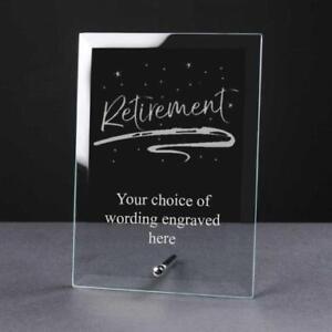 Personalised-Engraved-Retirement-Glass-Plaque-Elegant-Gift-RET-GLP