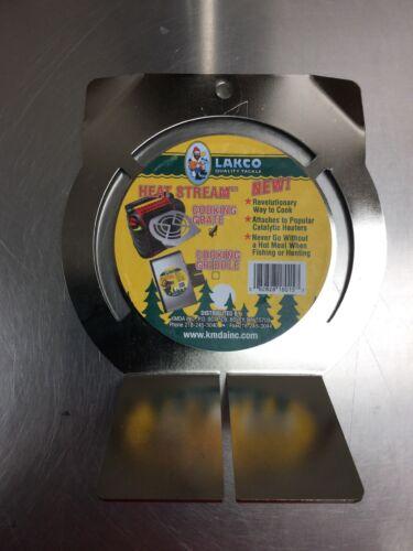 LAKCO Heat Stream Cooking Grate Mr Heater BIG BUDDY Propane Heater WARMING PAN