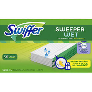 Swiffer Sweeper Wet Mopping Pad Refills Floor Mop Lavender