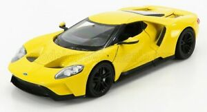 WELLY 1/24 FORD USA | GT 2017 | YELLOW