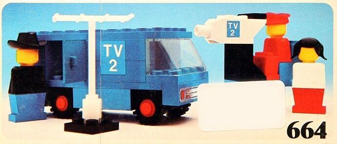 LEGO Set 664 TV 2 News News News Crew 846b2e