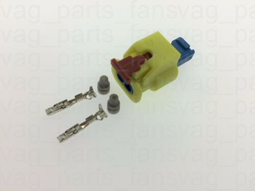 4H0973323 2 Pins Plug Flat Contact Housing Mating Connector for VAG VW Audi