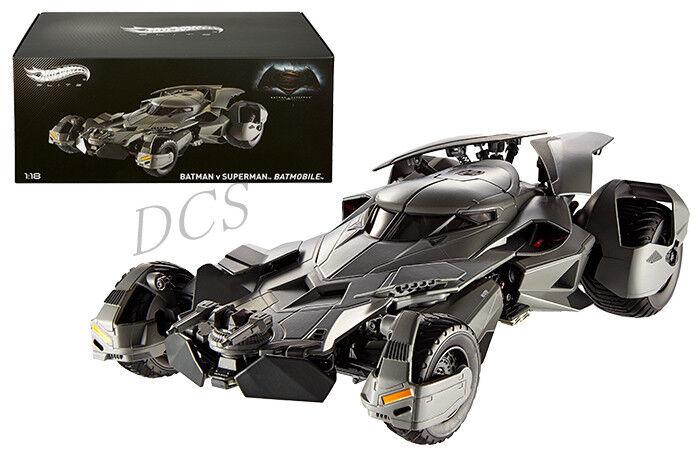 Hot wheels - elite batman   superman dawn justiz batmobil 1   18 nein cmc89