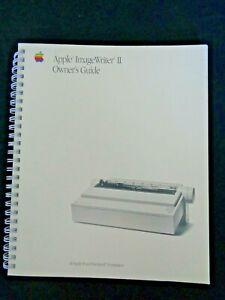 Apple-Computer-ImageWriter-II-Printer-Owner-039-s-Guide-Image-Writer-Macintosh-1988