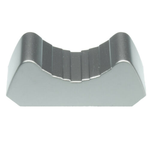 8 x Prof elektrisch leitend FADERKNOPF metallisiert f ALPS Fader touch sensitive
