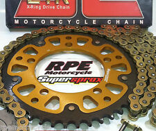 2012-2017 BMW S1000RR SuperSprox JT Z1R 520 Gold chain and sprockets kit