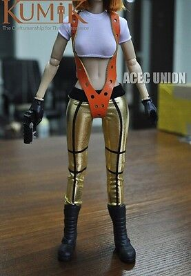 KUMIK Outfit 3 Resident Evil The Fifth Element Alice 1//6 Female Figure Set