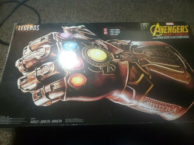 Authentic Marvel Legends Series Infinity Gauntlet Articulated Electronic Fist