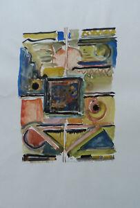 ROSMARIEN-WEBER-MARKERT-1927-2010-COMPOSITION-ABSTRAITE-SIGNEE-DATEE-1988-54