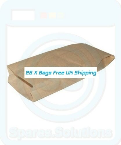 Vacuum Cleaner Dust Bags for Hoover 1338 1346 1354 H1 Type Pack Of 25