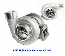 Emusa Gt45 Billet Wheel Turbo 600hp Boost Universal T4t66 35 V Band 105 Ar