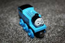 Thomas the Train Wooden Railway Tank Engine & Friends Blue Open Mouth 2003 Toy