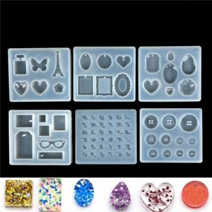 DIY-Silicone-Mold-Resin-Jewelry-Making-Mould-Epoxy-Pendant-Craft-Tool-Handmade