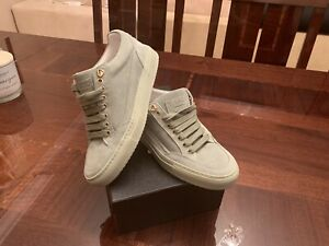 MASON GARMENTS light GREEN TIA LOW TRAINERS MADE IN ITALY 39 UK DESIGNER