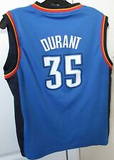 NBA Oklahoma City Thunder Kevin Durant #35 Jersey Youth Large Adidas EUC