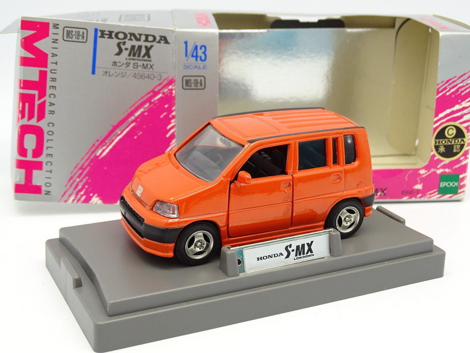 M Tech 1 43 - Honda S MX Lowdown Orange