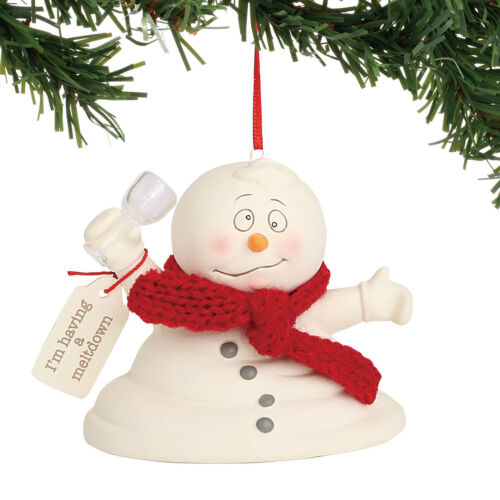 Dept 56 Snowpinions 2018 I/'m Having A Meltdown Ornament #6001177 NEW FREE SHIP