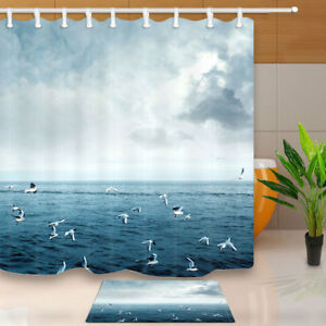 Image Is Loading 70 034 Bird Seagull Flying On Sea Bathroom