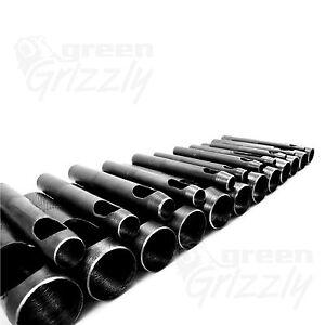Heavy-Duty-Hollow-Punzone-Per-Pelle-Plastica-Legno-Cintura-Foro-2-a-25-mm-AME