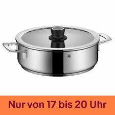 WMF Dampfgarer Bräter 28cm Silence-Glasdeckel VarioCuisine Edelstahl Induktion