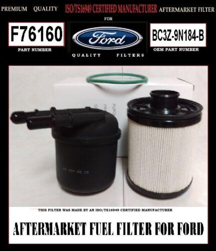 FUEL FILTER KIT F76160 FUEL FILTER FOR FORD V8 6.7L TURBO DIESEL