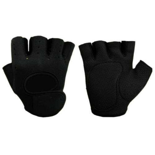 Women Men Half Finger Gym Gloves Sport Weight Lifting Exercise Fitness Outdoor