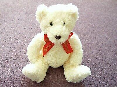 Rispettoso Harrods Nuovo Color Crema Orsacchiotto Rosso Harrods Nastro Ricamato Piede Valentine Regalo- Saldi Estivi Speciali