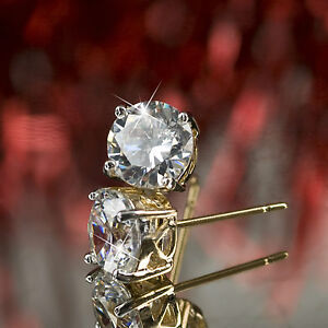 18k-2-tone-gold-GF-made-with-swarovski-crystal-ladies-stud-earrings-SOLITAIRE